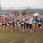 Start of the Junior Women Race 2016 (Photo courtesy of Athletics Canada)