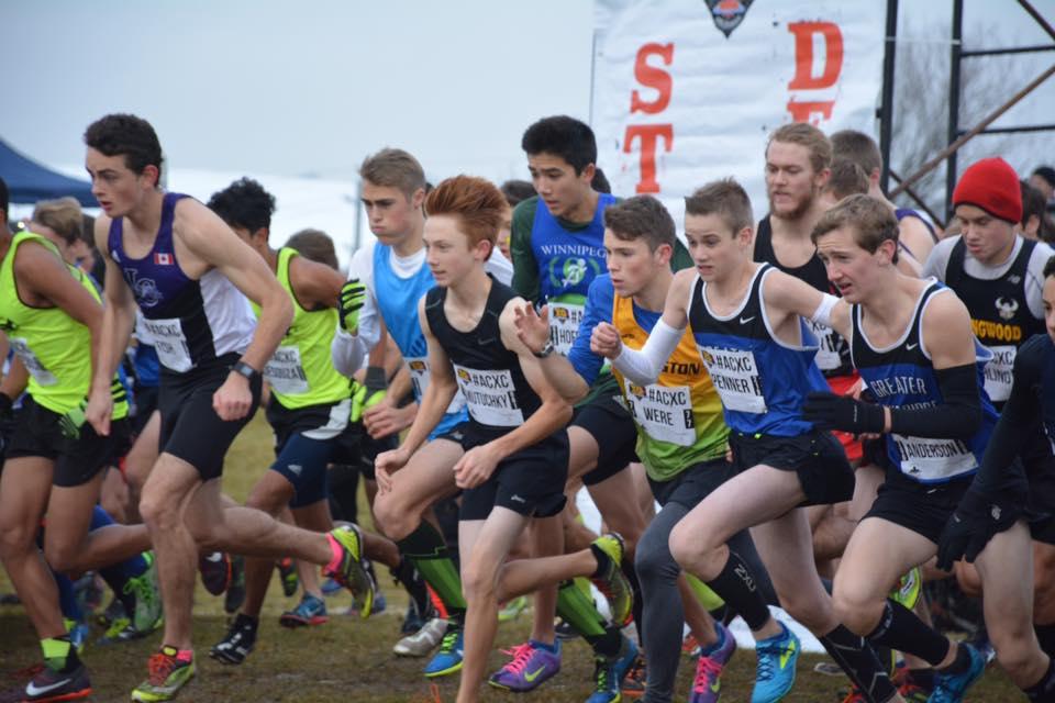 Start of Youth Men Race 2016